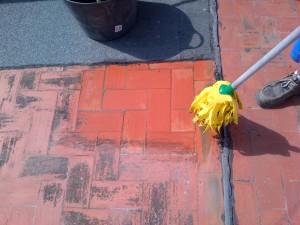 Limpieza de terrazas e impermeabilización